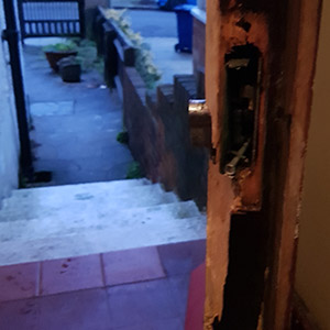 Burglary Lock Replacement
